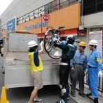 浪速区違法駐輪撲滅キャンペーン